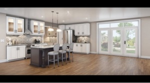 Brookfield Homes' new Panorama View Window was a selling feature at the Fieldstone community.