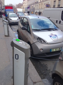 …Paris has been made even easier to navigate with electric car sharing service Autolib', a follow-up to the city's successful bicycle sharing system, Velib', which is the second-most extensive system of its kind in the world.