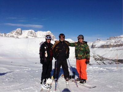 What's better than winning the CHBA Marketing Excellence Award? Skiing at Lake Louise with the boys from Curb Signs and winning the CHBA.