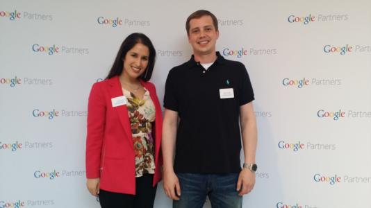 Andrea Schwebel & Michael Gregoris at Google Partners 1 Year Anniversary Party in Toronto